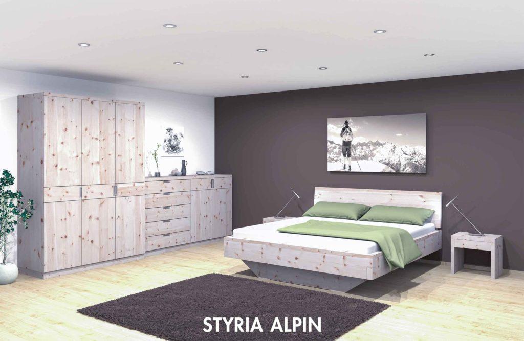 """Schlafzimmer """"Styria Alpin"""""""