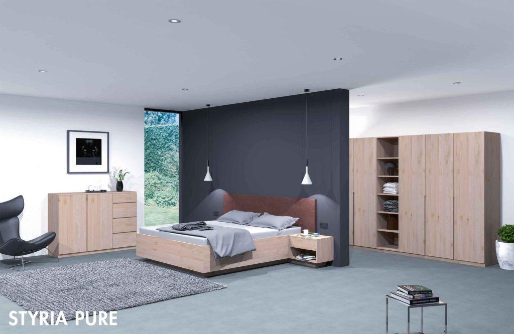 """Schlafzimmer """"Styria Pure"""""""