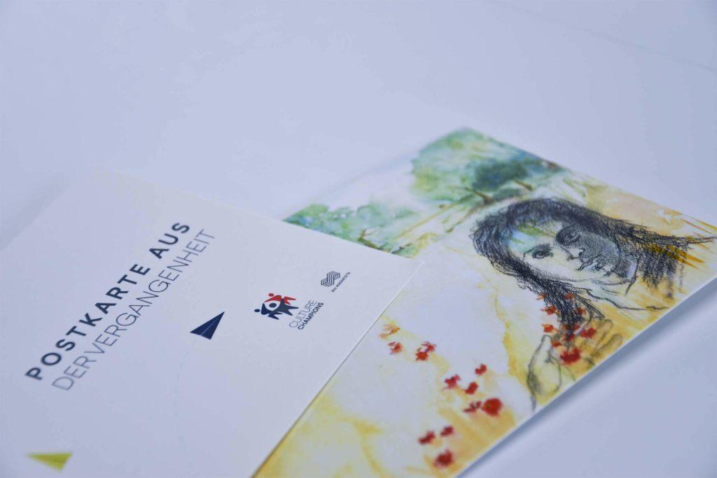 Muster für Postkarten