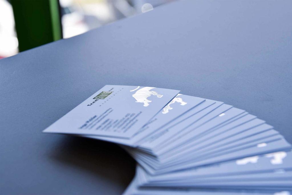 Visitenkarten aus unserer Druckerei