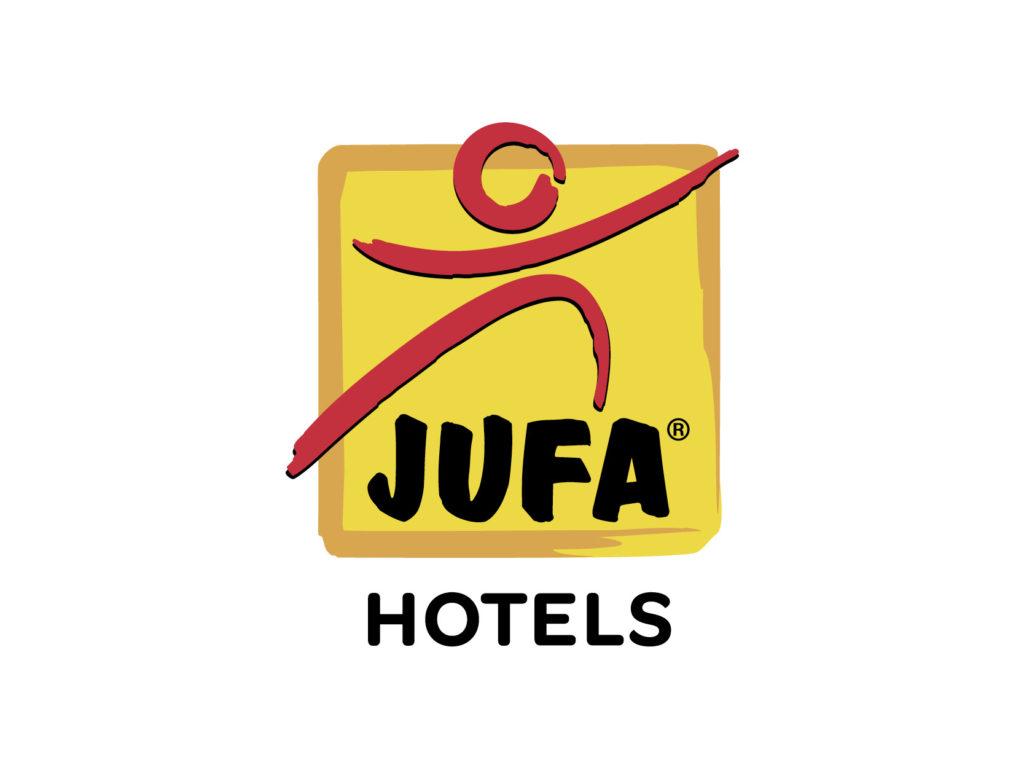 Firmenlogo der Hotelkette JUFA