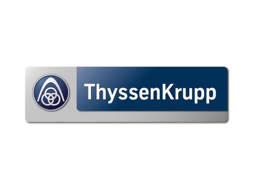 Firmenlogo der Firma ThyssenKrupp