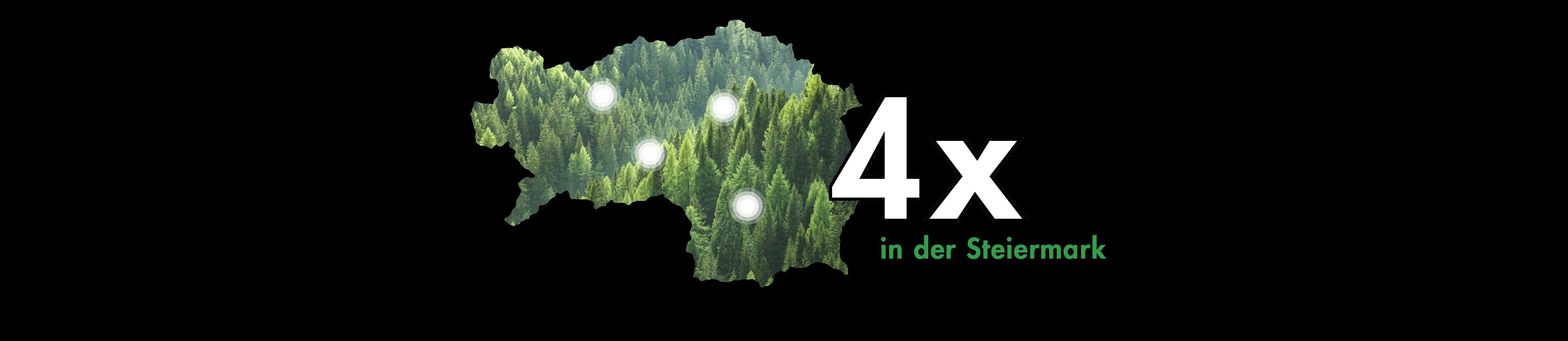 4 Mal in der Steiermark